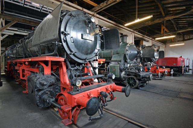 Bayerisches Eisenbahnmuseum hat weiterhin geöffnet