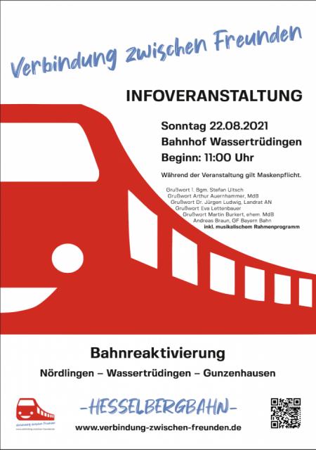 Mit dem Seenland-Express zur Infoveranstaltung zur Bahnreaktivierung!